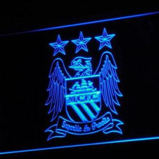 Manchester City Football Club neon sign LED