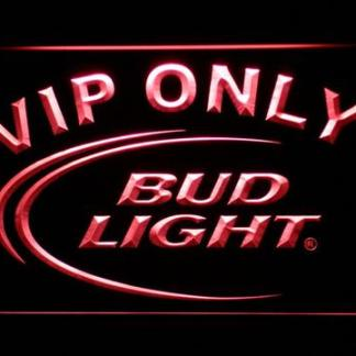 Bud Light VIP Only neon sign LED