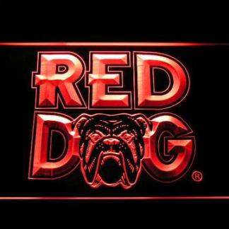 Red Dog neon sign LED