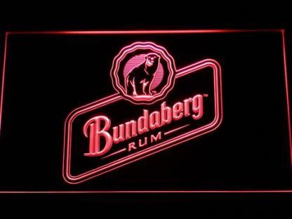 Bundaberg Rum neon sign LED