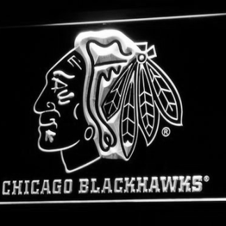 Chicago Blackhawks neon sign LED