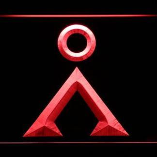 Stargate Earth Glyph neon sign LED