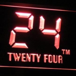 24 - Twenty Four neon sign LED