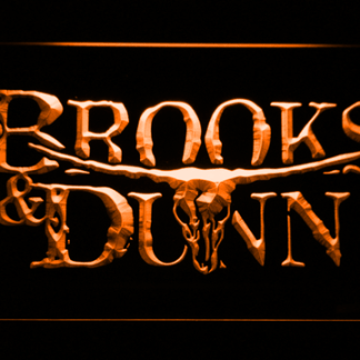 Brooks & Dunn neon sign LED