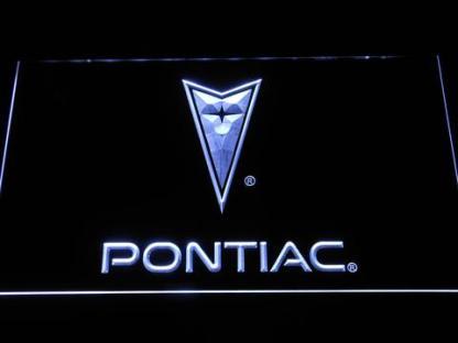Pontiac neon sign LED