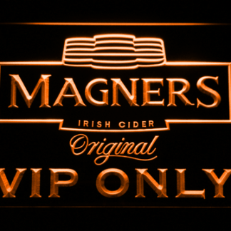 Magners VIP Only neon sign LED