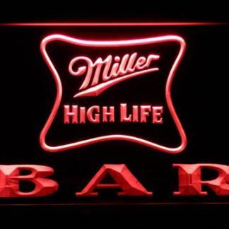 Miller High Life Bar neon sign LED