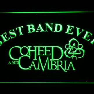 Coheed and Cambria Best Band Ever neon sign LED