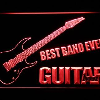 Ibanez Guitar Best Band Ever neon sign LED