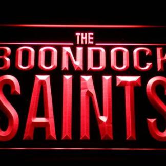 Boondock Saints neon sign LED
