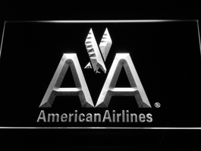 American Airlines neon sign LED