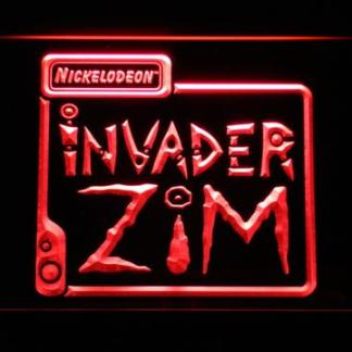 Invader Zim neon sign LED