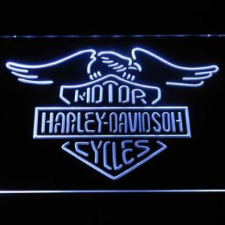 Harley Davidson Wings neon sign LED