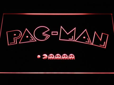 pac man logo neon sign led sign shop what s your sign