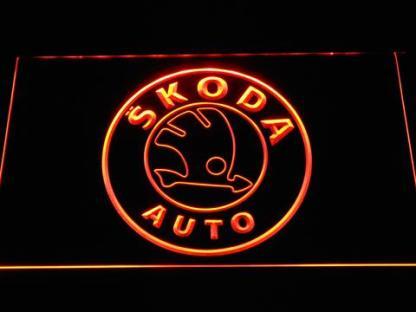 Skoda neon sign LED