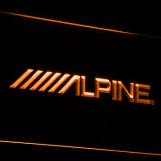 Alpine neon sign LED