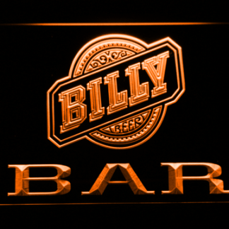 Billy Beer Bar neon sign LED