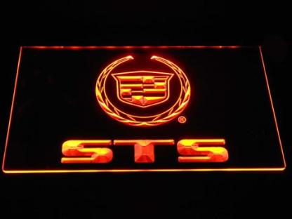 Cadillac STS neon sign LED