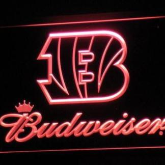 Cincinnati Bengals Budweiser neon sign LED