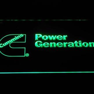 Cummins Power Generation neon sign LED