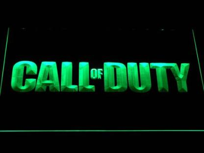 Call of Duty neon sign LED