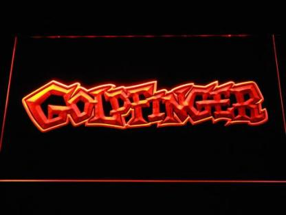 Goldfinger neon sign LED