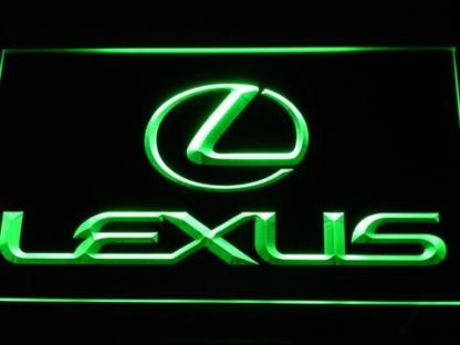 Lexus neon sign LED