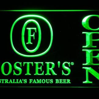 Foster's Open neon sign LED