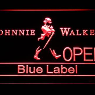 Johnnie Walker Blue Label Open neon sign LED