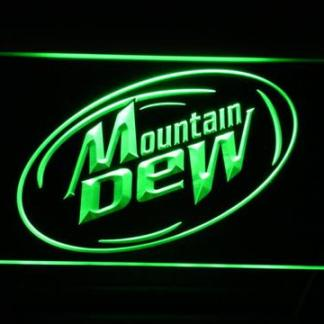 Mountain Dew neon sign LED