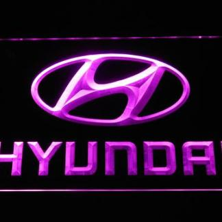 Hyundai neon sign LED