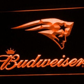 New England Patriots Budweiser neon sign LED