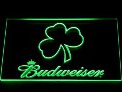 Budweiser Shamrock Outline neon sign LED