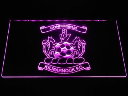 Kilmarnock F.C. neon sign LED