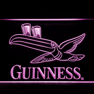 Guinness Flying Toucan neon sign LED