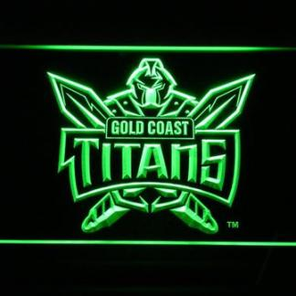 Gold Coast Titans neon sign LED