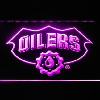Edmonton Oilers Drop - Legacy Edition neon sign LED