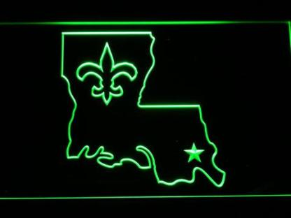 New Orleans Saints 2000-2005 - Legacy Edition neon sign LED