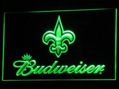 New Orleans Saints Budweiser neon sign LED
