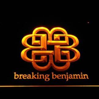Breaking Benjamin neon sign LED