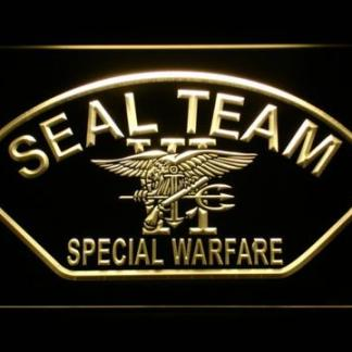 US Navy SEAL Team 6 Shell neon sign LED