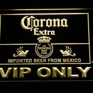 Corona Extra VIP Only neon sign LED