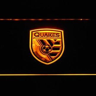 San Jose Earthquakes neon sign LED