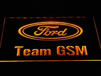 Ford Team GSM neon sign LED