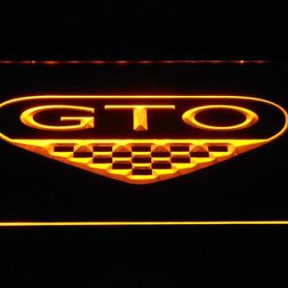 Pontiac GTO neon sign LED