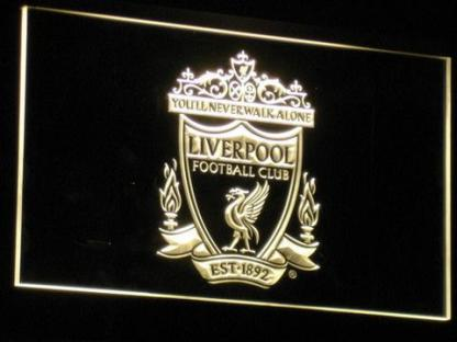 Liverpool Football Club neon sign LED