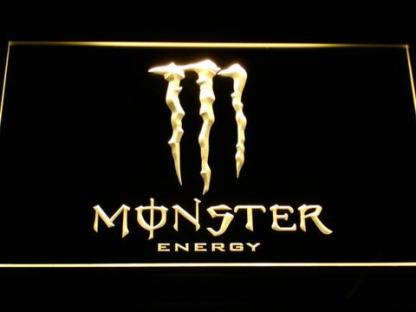 Monster Energy neon sign LED