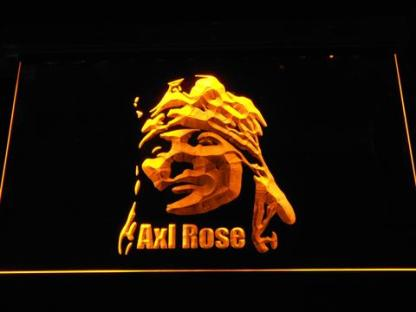 Axl Rose neon sign LED