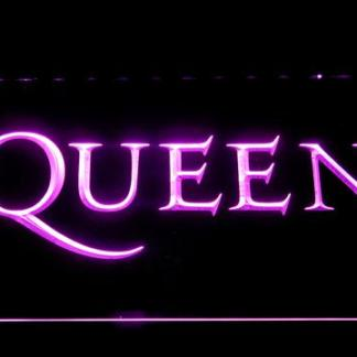 Queen Wordmark neon sign LED