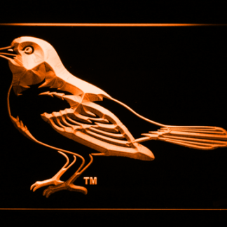 Baltimore Orioles 1999-2008 Oriole - Legacy Edition neon sign LED